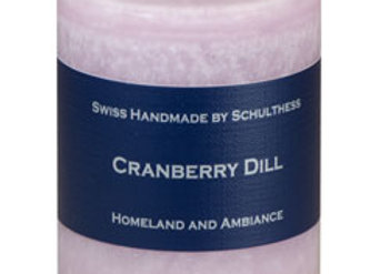 Schulthess Cranberry Dill Kerze (mini)