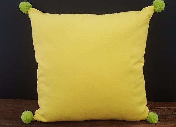 Zierkissen Gelb