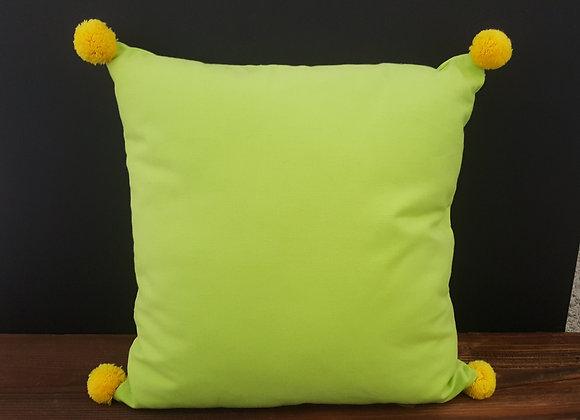 Zierkissen Grün