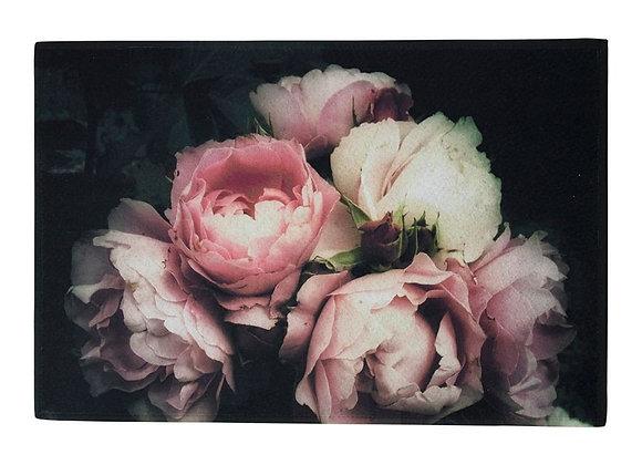 Teppichmatte Vintage-Rose