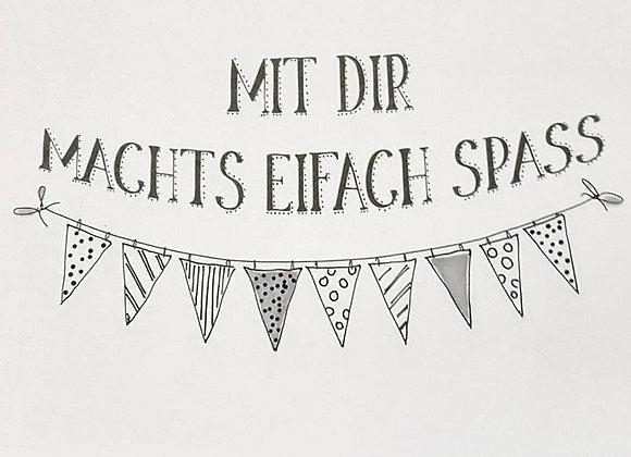 Dialekt Postkarten