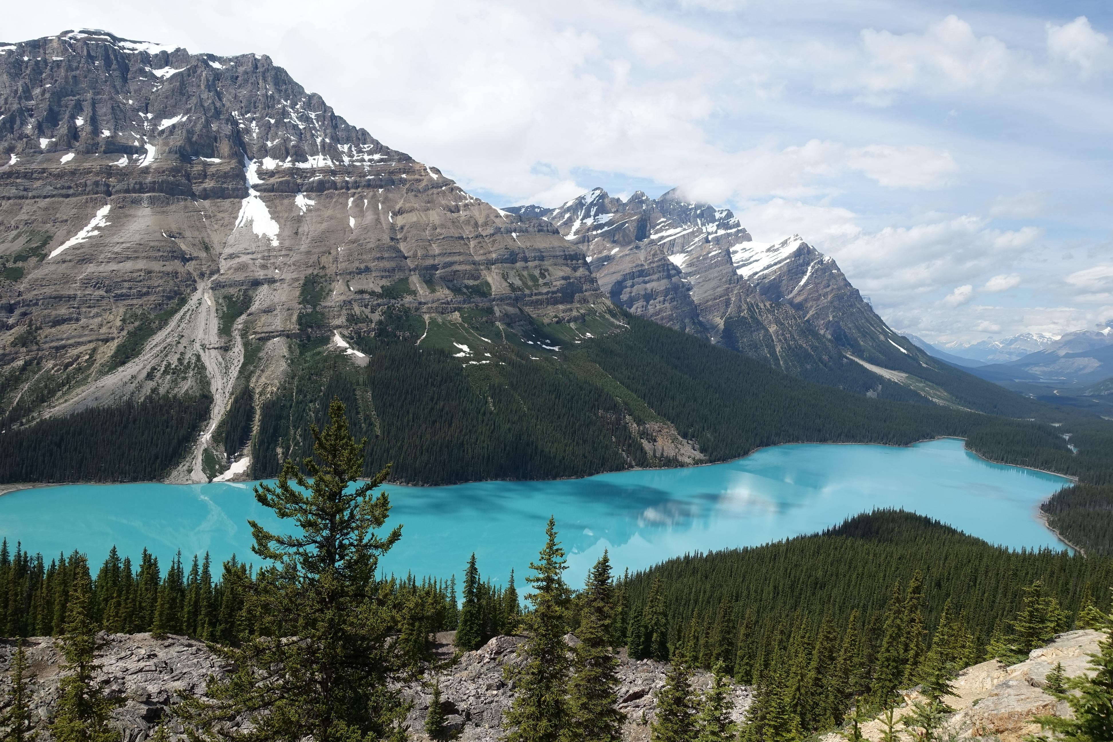 CANADA - AB - banff nat park - lake