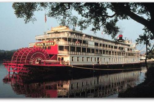 """Serata """"old time"""" lungo il Mississippi"""