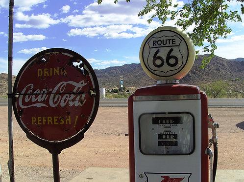 Un pieno di benzina per gli sposi!