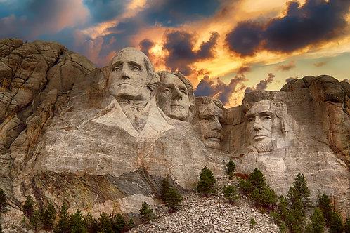 Passeggiata a Mount Rushmore