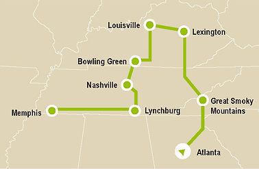 Kentucky Bourbon e altri spiriti map.jpg