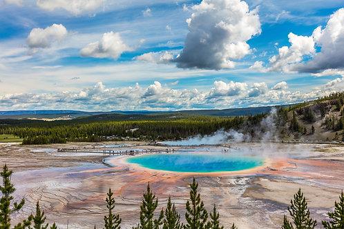 Pernottamento in lodge a Yellowstone