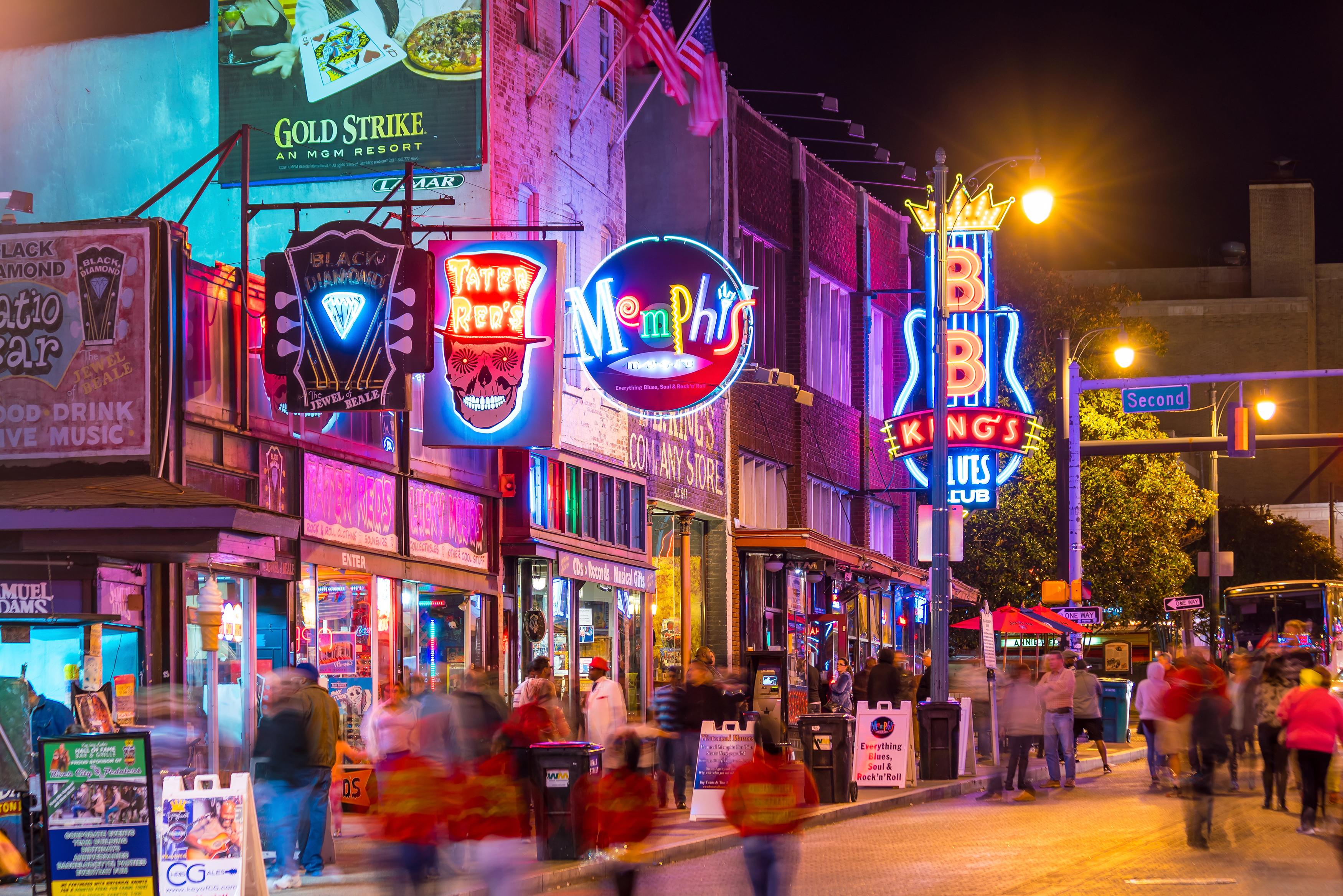 TN - Memphis - Beale Street grande