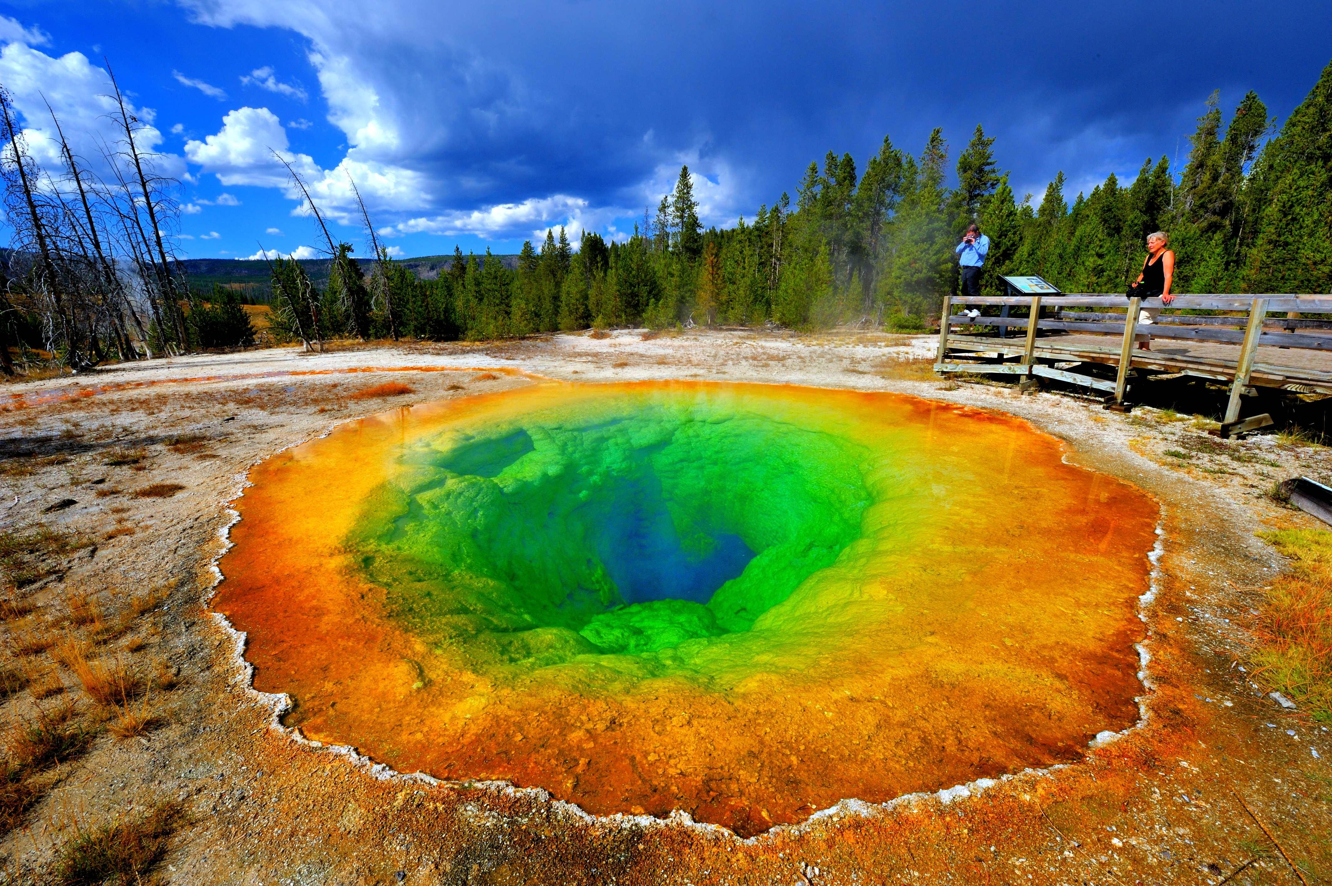 WY - Yellowstone - Morning Glory