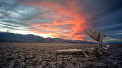 death valley tramonto