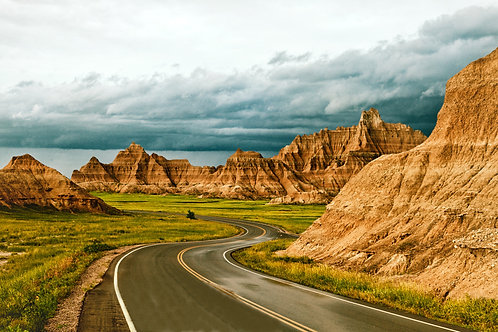 Intera giornata a Badlands National Park
