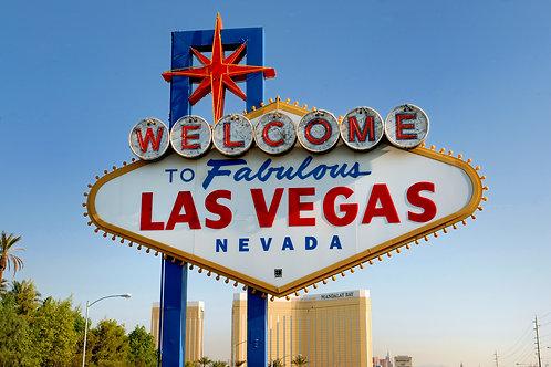 Serata cool a Las Vegas