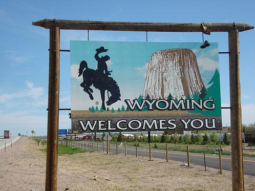 Pernottamento a Casper, Wyoming