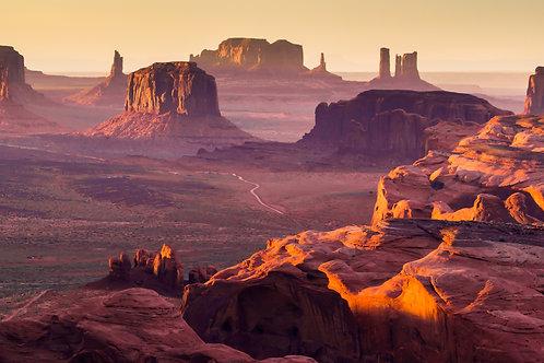 Pernottamento a Monument Valley, con vista sulla vallata