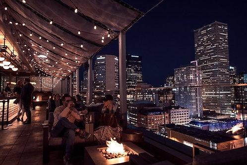 Rooftop Dinner a Denver