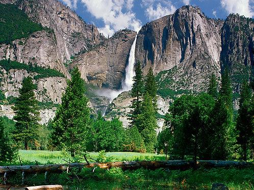 Pernottamento ai piedi della Cascata di Yosemite