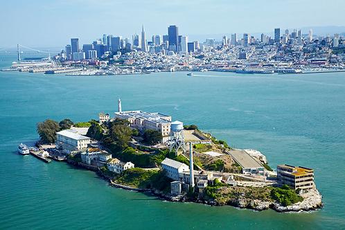 A piedi tra i fantasmi di Alcatraz