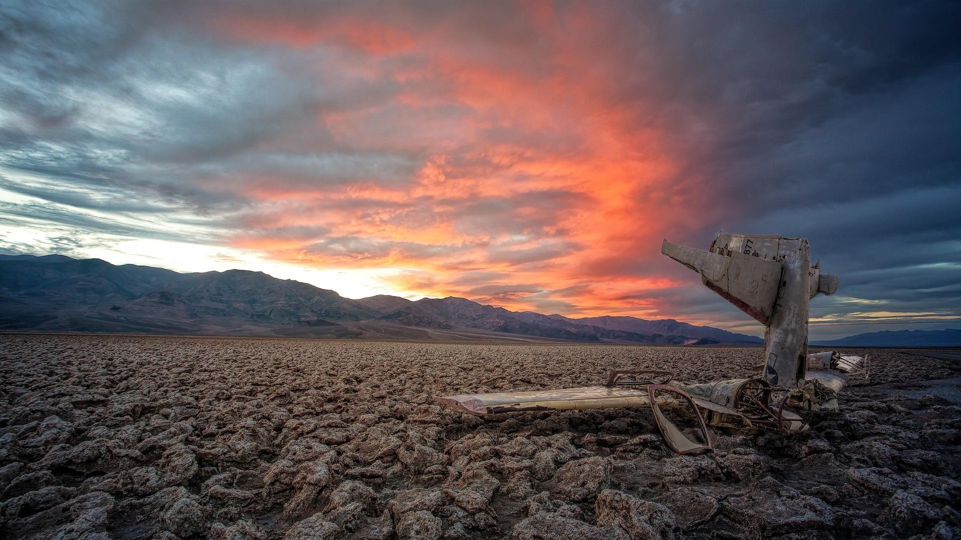 death valley tramonto