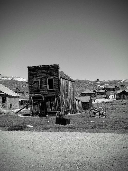 Visita di Bodie, la città fantasma