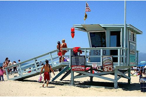Pomeriggio in spiaggia a Santa Monica