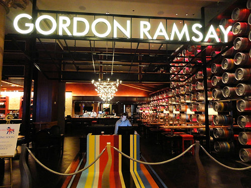 Cena nella famosa steakhouse di Gordon Ramsey