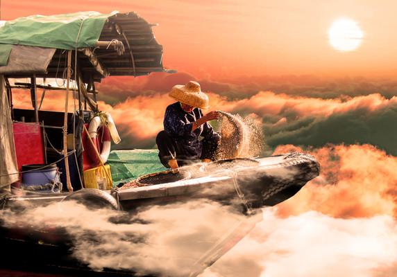 The Flying Fishermen