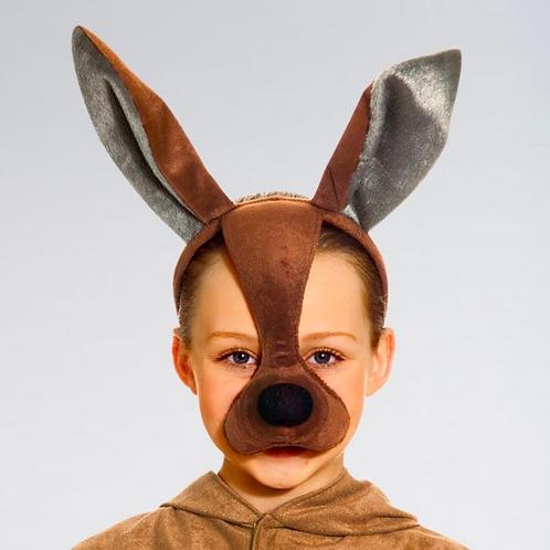 Masque de kangourou