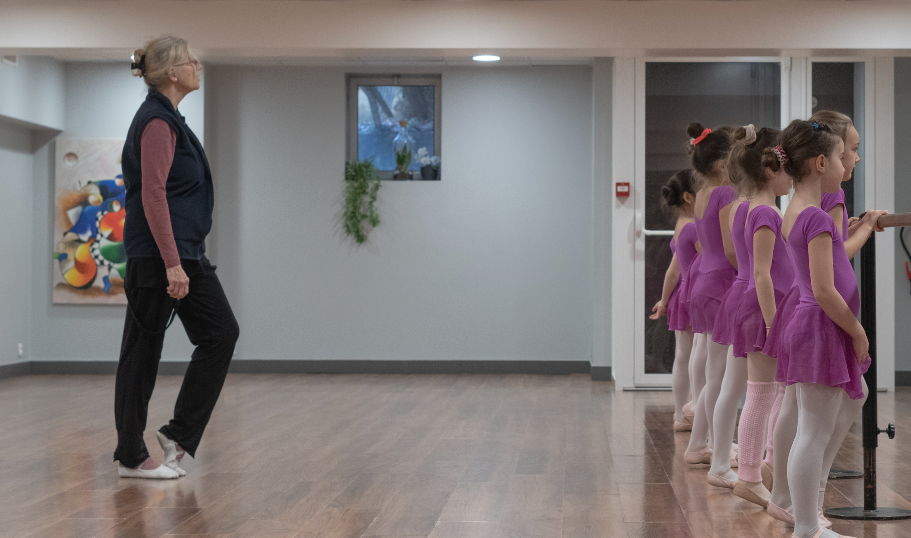 Danse classique débutant COMME ON DANSE
