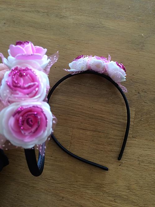 Serre-tête 3 fleurs