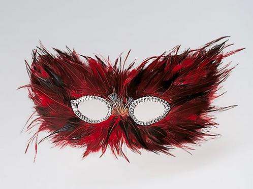 Masque à plumes