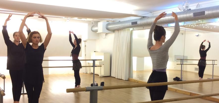Cours de danse classique pour adultes