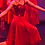 Thumbnail: Robe longue rouge