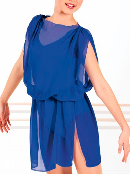 Tunique bleue
