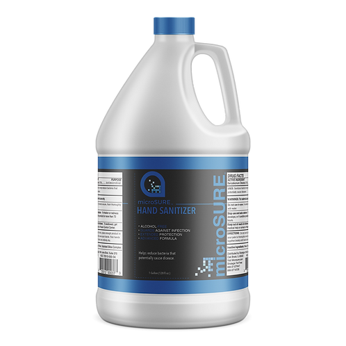 microSURE™ Hand Sanitizer 1 Gallon Jug