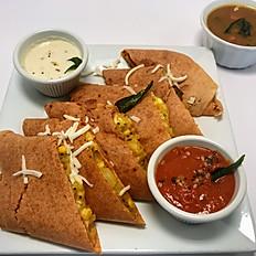 Veg Sandwich Dosa