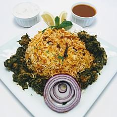 Gongura Chicken Biryani