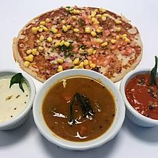 Masala Corn Uthappam