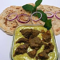 Malabar Parotta & Lamb Kurma