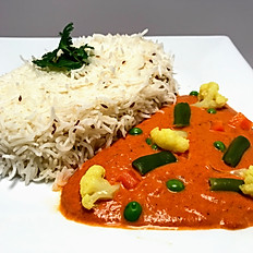 Vegetable Tikka Masala