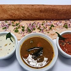 Onion Chilli Dosa