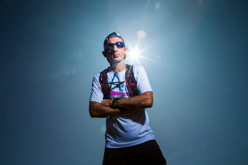 Un habitant de Grens court un ultra-trail de 160 kilomètres