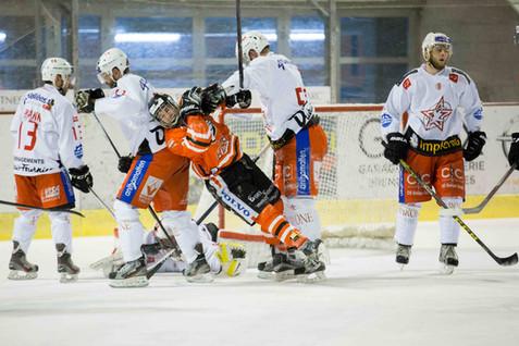 Morges, Eaux Minérales, Hockey sur glace, play-offs Demi-finales acte IV. HC Forward-Morges - HC Sion