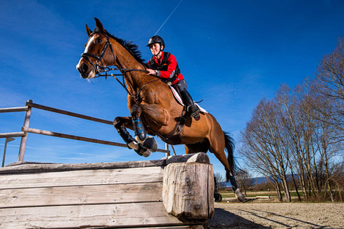 Caroline Gerber, horsewoman