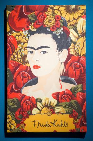 Exposition of Frida Kahlo in the Village du Monde