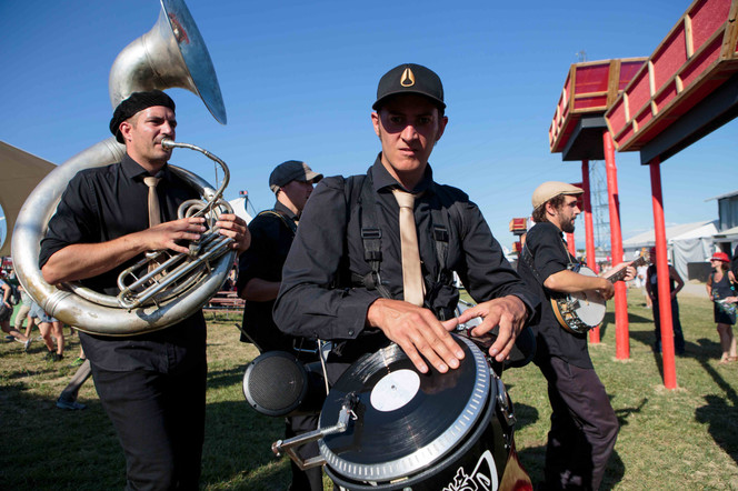 "Jazz Combo Box dans ""Scratcho'Band"""