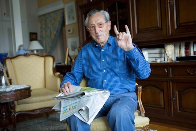 Marcel Gros, retired