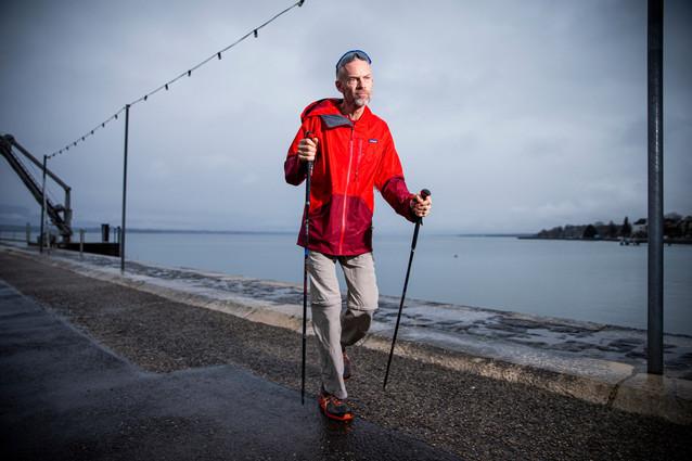 Yves Auberson, walker
