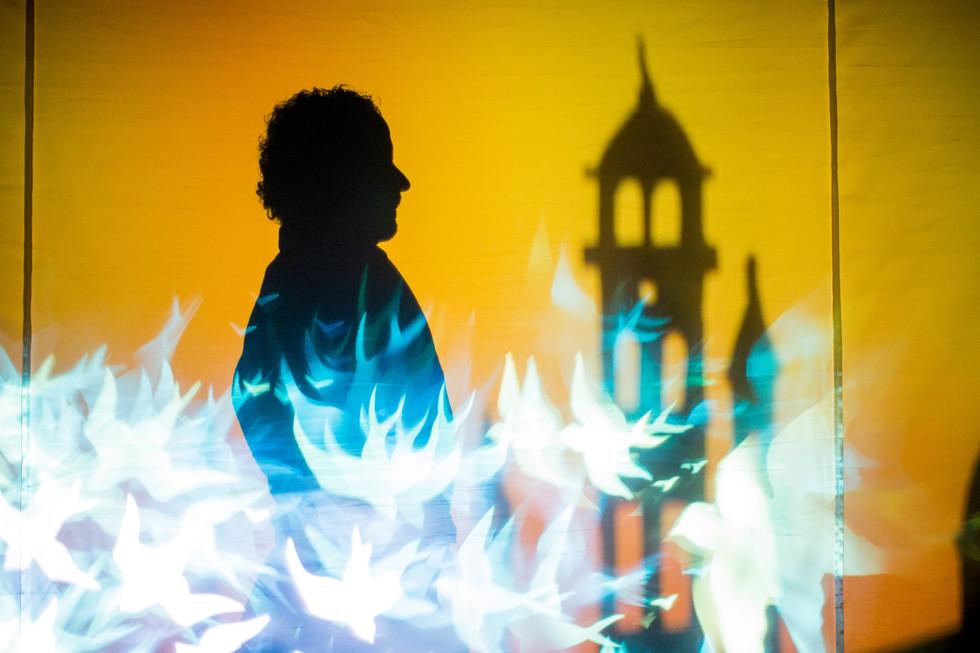 Marco Polo en sons, ombres et lumières sur la scène rolloise