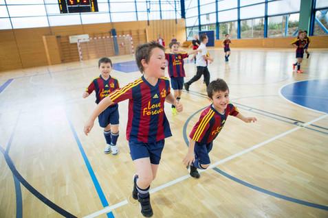 "Nyon, Rocher, 33e tournoi football indoor ""Stade Nyonnais"". FC Forward Morges se proclament vainqueur du tournois Juniors F"