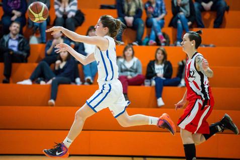 Nyon, Rocher, Basketball, LNBF, Nyon Basket Fémenin - Lions Carouge-Genthod Basket. Pauline Bonacorsi (Nyon)